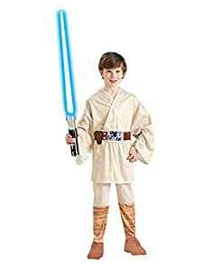 """Star Wars Costume, Kids Luke Skywalker Outfit Style 1, Large, Age 8 - 10, HEIGHT 4' 8"""" - 5'"""