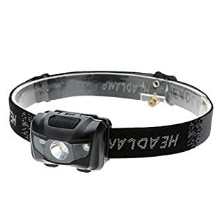 3W LED Head Torch Powerful 400 lumens Fishing Headlamps Camping Lightweight LED Headlight Outdoor