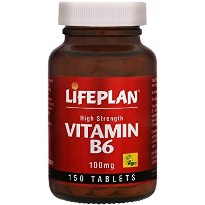 Lifeplan High Strength Vitamin B6 Pyridoxine 100mg 150 Tablets from Lifeplan