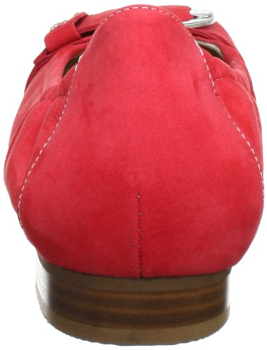 Semler Denise Damen Geschlossene Ballerinas Rot (064 - flamme)