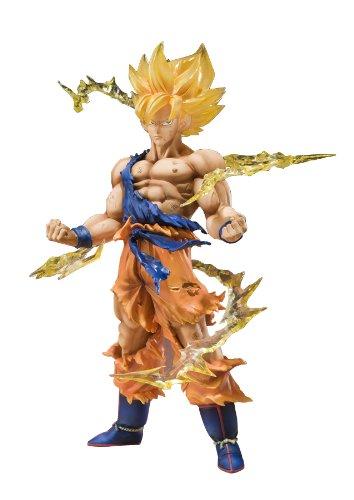 Bandai Tamashii Nationen Super Saiyan Goku Dragonball Z Figuarts Zero Action Figur