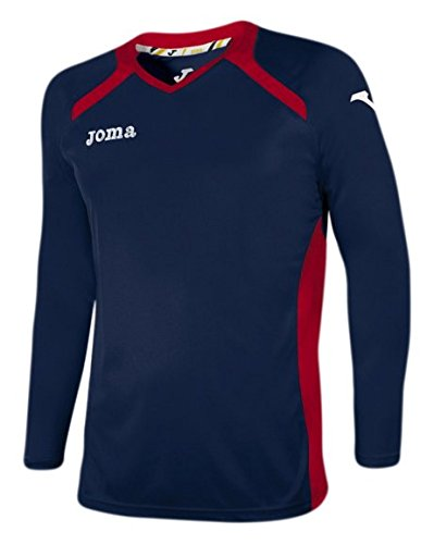 Joma 1196 99 021 T-Shirt manches longues Femme Blue/Rouge