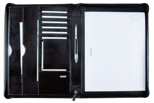 Jüscha - Carpeta portafolios de piel tamaño A4
