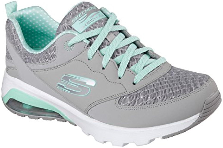 Skechers, Donna, Skech Air, Pelle, scarpe da ginnastica, ginnastica, ginnastica, Grigio   A Prezzo Ridotto  7acd44