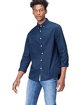 [Sponsorizzato]FIND Camicia in Cotone Regular Fit Uomo