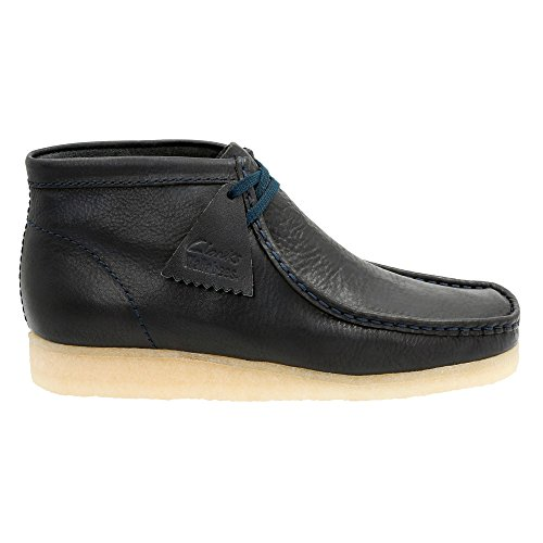 Clarks Originals Wallabee Stiefel Marinha
