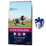Eukanuba 15 kg Mature Senior Medium Hundefutter für ältere Hunde + Geschenk