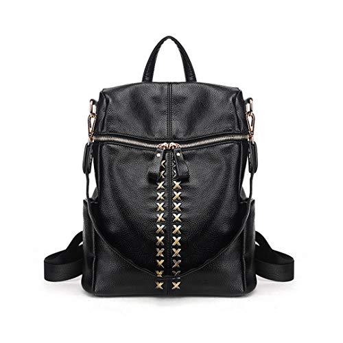 Damen Leder Damen Reisetasche Schultertasche