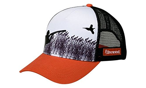 Browning Cap Rooster Rust Snapback