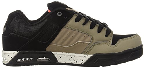DVS Shoes Enduro Heir, Chaussures de Skateboard Homme Beige (Taupe Black Leather 213)