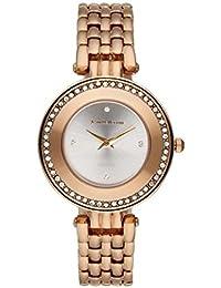 Jean Bellecour REDT25 - Reloj de pulsera mujer, acero inoxidable, color rosa