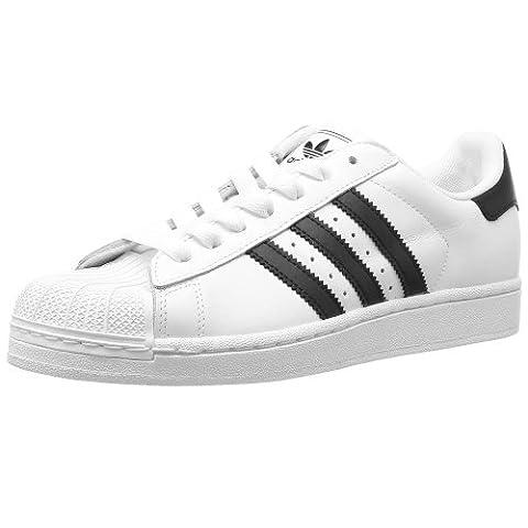 Adidas Originals Superstar II Leather Trainers White/Black 10 UK