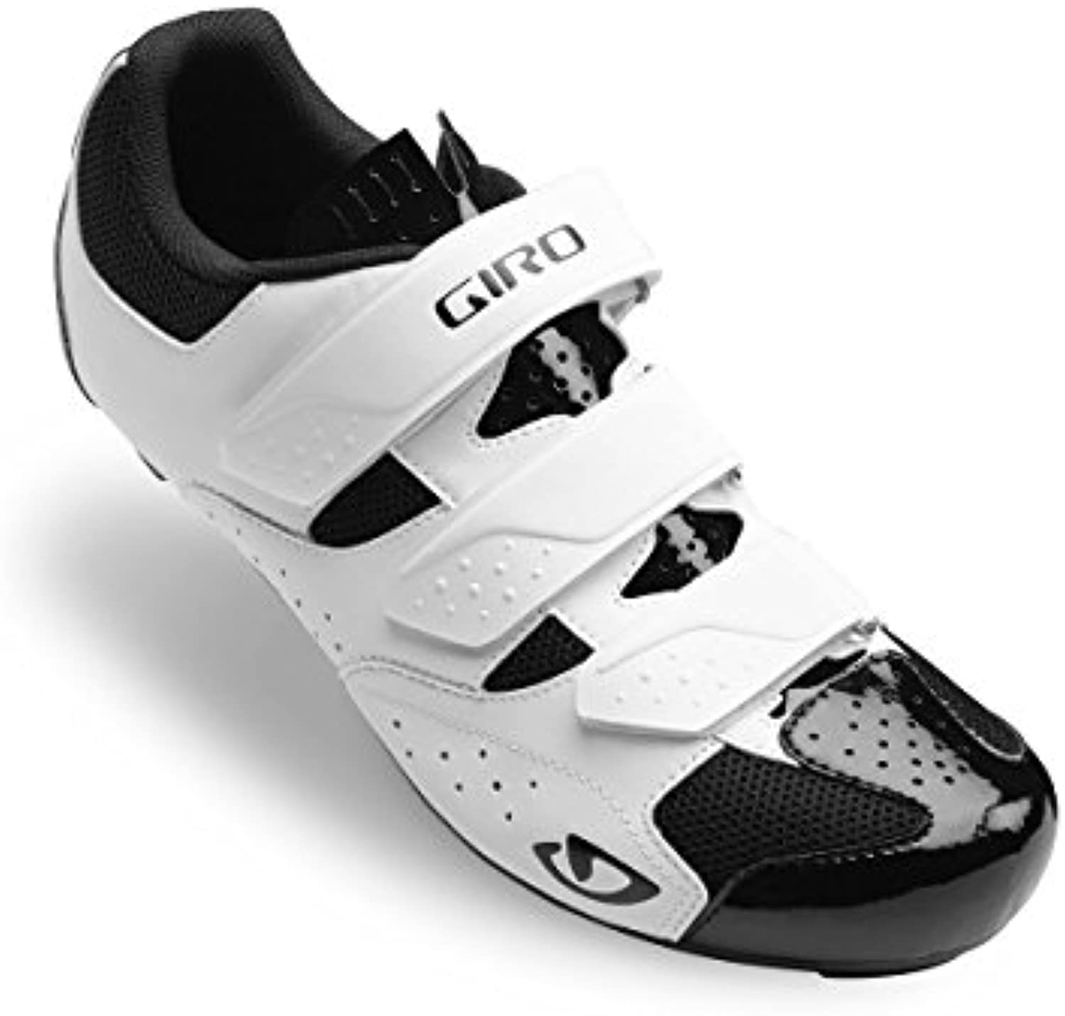 Giro Techne Road, Zapatos de Ciclismo de Carretera para Hombre, Multicolor (White/Black 000), 44.5 EU  -