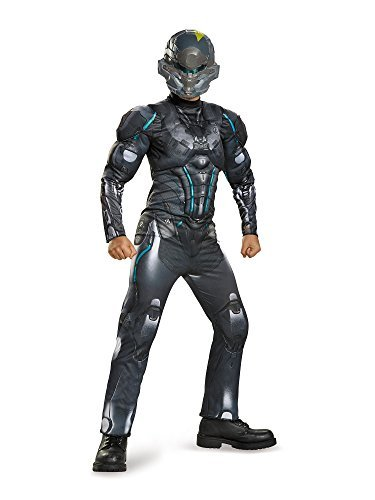 (Disguise Spartan Locke Classic Muscle Halo Microsoft Costume, Small/4-6 by Disguise)