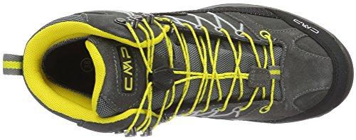 CMP Rigel - Scarpe da Trekking e da Passeggiata Unisex – Adulto Nero (Grafite)