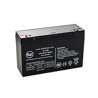 Injusa Battery 6V 12AH 6V 12Ah Roller Akku - Dies ist EIN AJC® Ersatz