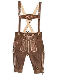 Traje típico de niños de piel Pantalones Beige Talla 80–140