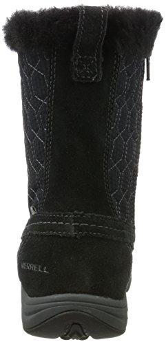 Tall Noir Bottes de Waterproof Merrell Femme Ryeland Black Polar Neige 6Onqx58x