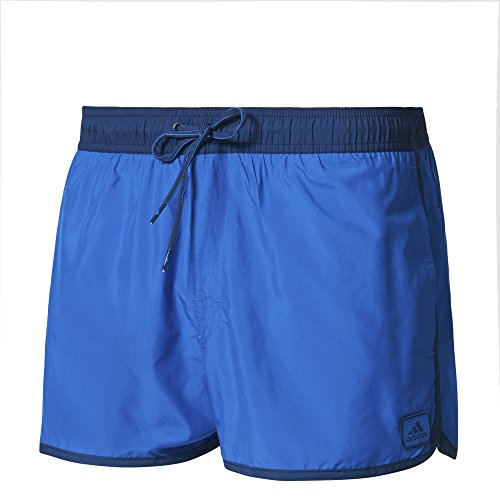adidas Herren Split Water Badeshorts, Blue/Mystery Blue, S Preisvergleich