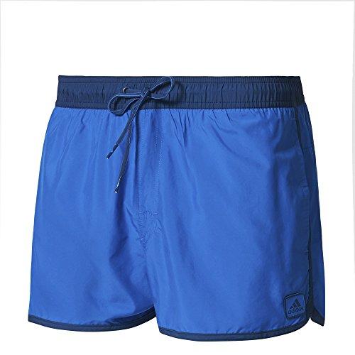 adidas Herren Split Water Badeshorts, Blue/Mystery Blue, S
