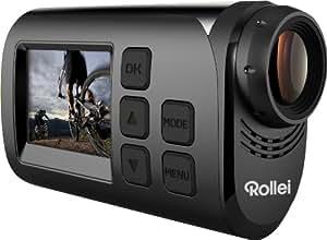 Rollei 40261 Actioncam S-30 WiFi (Action-, Sport- und Helmkamera mit Full HD Video-Auflösung) Schwarz