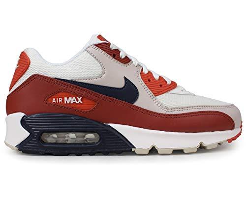 Nike Air Max 90 Bianco/Rosso Taglia 40