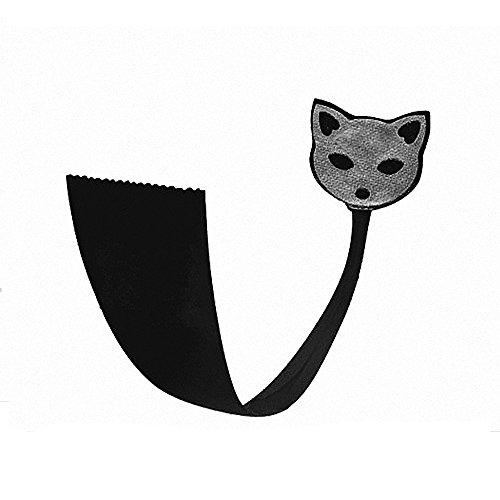 Drizzle C-String Tangas Sexys Mujer Negro Gatos Cómodo