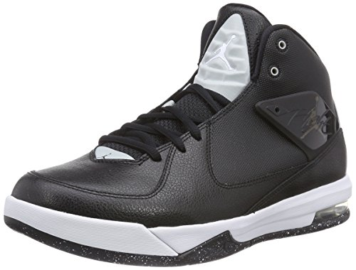 Nike Herren Jordan Air Incline Basketballschuhe Schwarz (Black/White-Grey Mist 010) 45 EU