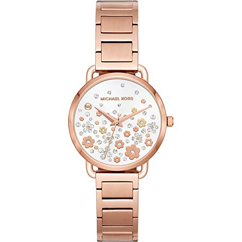 Michael Kors Women's Analogue Quartz Watch with Stainless Steel Strap MK3841