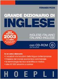 Grande dizionario di inglese. Inglese-italiano, italiano-inglese. Con CD-ROM