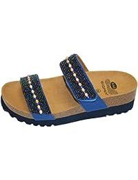 Scholl Brentis Sandalo Navy Blu Misura 35 Venta Salida De Precio Barato E4ozEL0