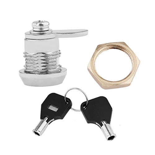 Schublade Tubular Cam Lock für zu Hause wichtige Artikel Sicherheit Zylinder Tür Briefkasten Kabinett Werkzeug mit 2 Tasten MS102 Ge Security Cam