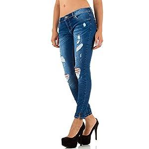 Damen Jeans, DESTROYED HÜFT SKINNY, KL-J-PTL-S2306