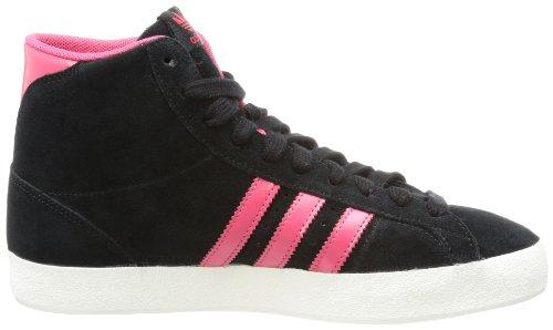 adidas Originals - Scarpe da ginnastica Basket Profi, Donna Negro / Rosa