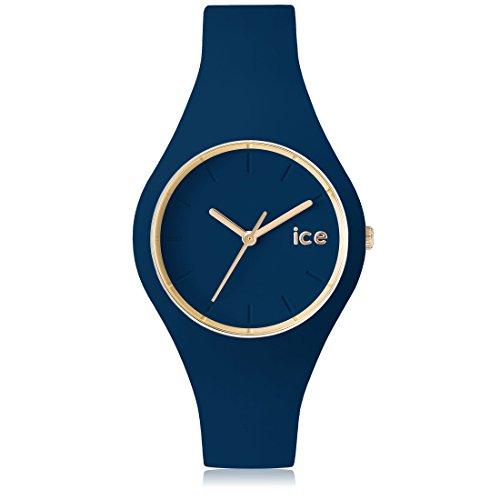 Ice-Watch - ICE glam forest Twilitght - Montre bleue pour femme avec bracelet en silicone - 001055 (Small)