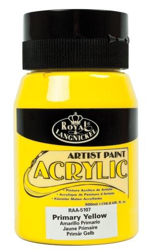 Royal-Langnickel-RAA-5107-Essentials-500-ml-Acrylfarbe-primrgelb