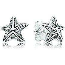 Pandora 290748czbox Pendientes Estrella de mar tropical