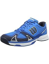 Wilson WRS322240E120, Zapatillas de Tenis para Hombre, Azul (Brilliant Blue / Navy Blazer / Imperial), 47 1/3 EU