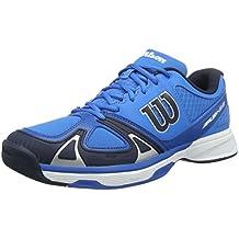 Wilson  RUSH EVO Brilliant /Navy Blaze/Imper 8.5, Chaussures de Tennis homme 42 2/3 EU