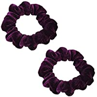 Haodou Fashion Multicolor Stretchy Hair Ropes Elastics Hair Ties Bobbles Ponytail Holders Rubber Bands Hair Bands Hair Accessories for Women Girls Kids Men