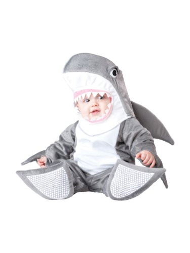üm für Babys 86/92 (18-24 Monate) (Baby Hai-kostüm)