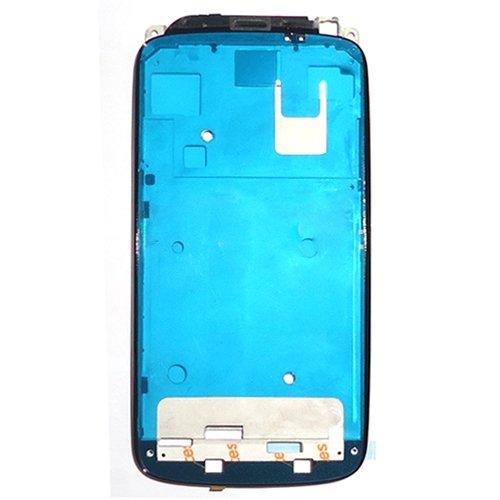 RepaipartsMent Piastra Anteriore per Telaio Anteriore con Cornice LCD YHM per HTC One S (Nero) (Colore : Black)