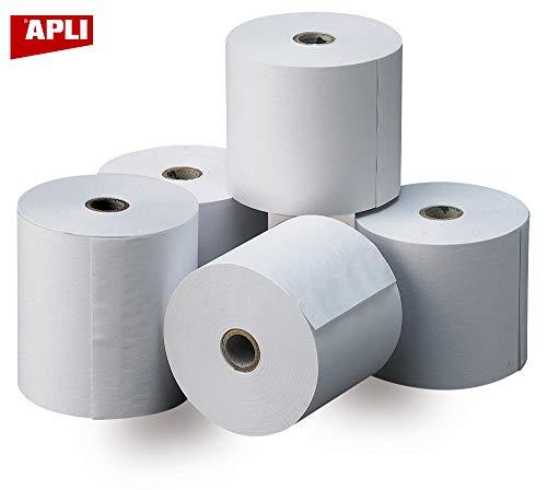APLI 13321 - Pack de 8 rollos de papel térmico