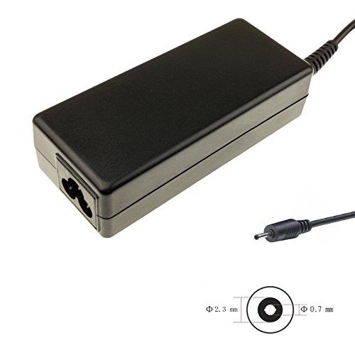 Netzteil 19V 2.1A 40W - 2.3x0.7x10 kompatibel mit Asus Eee PC 1001HA | 1005 | 1005H | 1005HA | 1005HA-A | 1005HA-E | 1005HA-EU1X | 1005HA-EU1X-BK | 1005HA-H | 1005HA-M | 1005HA-P | 1005HA-PU1X | 1005HA-PU1X-BK | 1005HA-PU1X-BU | 1005HA-V | 1005HA-VU1X | 1005HA-VU1X-BK | 1005HA-VU1X-BU | 1005HA-VU1X-PI | 1005HA-VU1X-WT | 1005HAB | 1005HAG | 1005HE | 1005HR | 1005P | 1005PE | 1005PED | 1005PEG | 1005PR | 1005PX | 1005PXD | 1008HA | 1104HA | 1106HA und part number EHEXA081XA | PA-1400-11