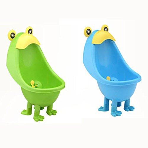 Bazaar Frosch Baby Potty Boy Badezimmer Pee Trainer Stehend Urinal Kid Wand-WC