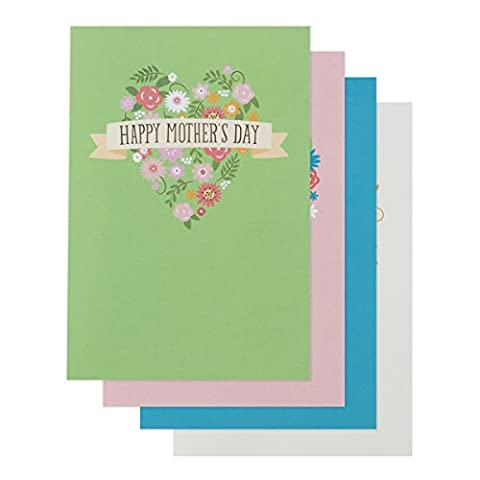DaySpring Mother's Day Boxed Greeting Cards w Embossed Envelopes - Garden, 12 Count (43372)