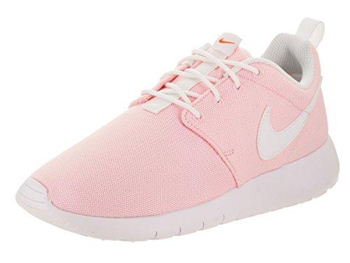Nike Roshe Run (GS) Scarpe da Corsa, Bambina Prism Pink/White Safety Orange
