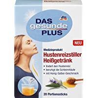DAS gesunde PLUS Hustenreizstiller Heißgetränk, Portionssticks, 1 x 20 St Medizinprodukt preisvergleich bei billige-tabletten.eu