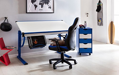 Sedie Da Scrivania Per Ragazzi : Home collection u scrivania per bambini sedia speedy blu grigio