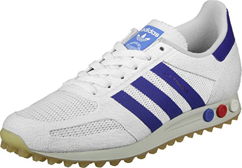 adidas La Trainer OG, Chaussures de Sport Homme vintage white-mystery ink-gum (BY9319)